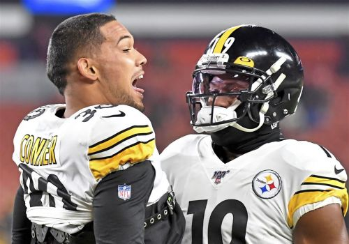 JuJu Smith-Schuster and James Conner officially out vs. Bengals