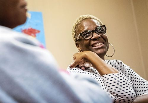 Group serves community with food, toys and laughter