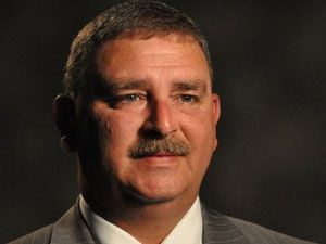 """Sheriff Chuck Wright says someone vandalized church with """"something bad about me"""""""