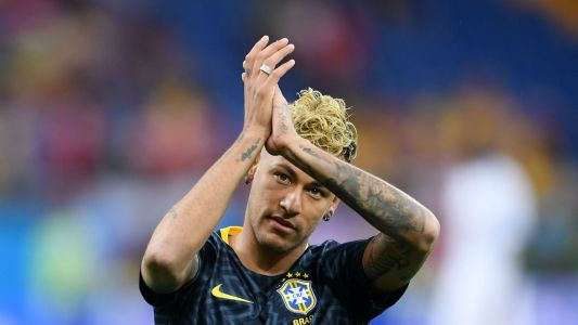 World Cup 2018: Neymar hobbles out of Brazil training session