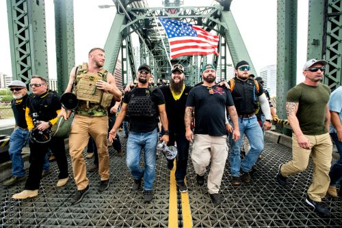 Proud Boys organizer arrested in Florida over riot at Capitol
