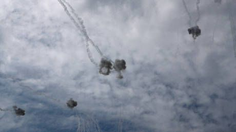 Israel intercepts 12 out of 14 missiles fired from Gaza in latest cross-border flare-up - IDF