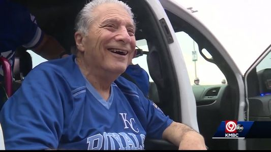 Lee's Summit police, Royals grant wish for veteran in failing health