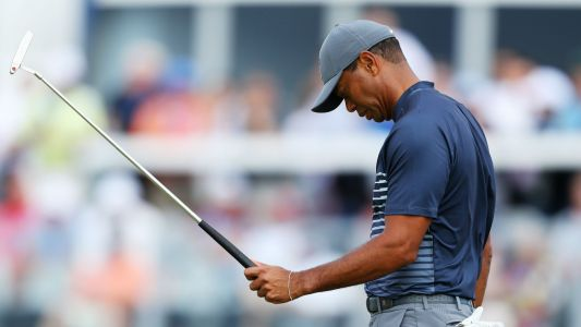 Tiger Woods Struggles Mightily in US Open 2018 Thursday Play, Shoots Eight Over
