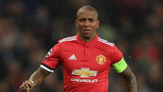Young out to end 16-month run without a Man Utd goal