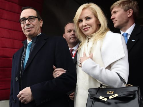 Treasury Secretary Steve Mnuchin's wife says they're opposites who are 'fire and ice' - here's what that could say about their marriage