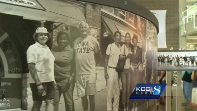 Take a look at this unusual work of art at Iowa State Fair