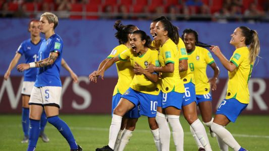 Women's World Cup 2019: Marta breaks record to guarantee Brazil's spot in next round