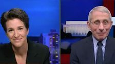 Dr. Fauci Tells Rachel Maddow White House Blocked Him From Appearing On Her Show