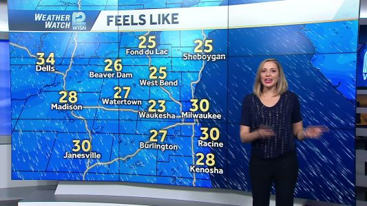Videocast: Wind chill and Sunday sun