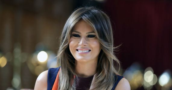 Smoke forces Melania Trump's plane back to military base