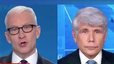 Anderson Cooper Calls 'Bulls**t' On Rod Blagojevich On Live TV