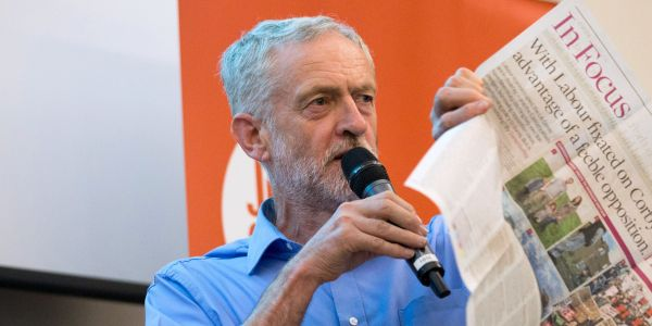 Watch Jeremy Corbyn attack press 'lies and smears' over Soviet spy claims