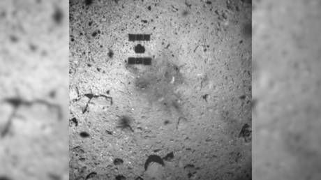Japanese space probe fires 'bullet' into asteroid following safe landing