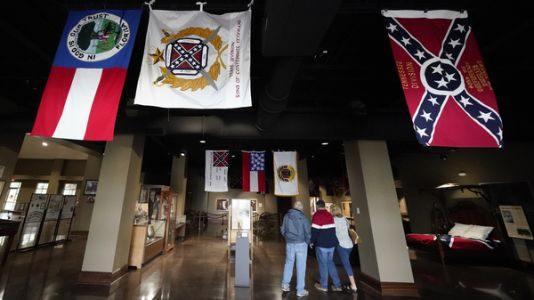 A Confederate General's Remains Are Being Moved Out Of Memphis