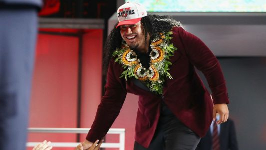 Vita Vea's only rookie duty for Bucs involves Disney's 'Moana'