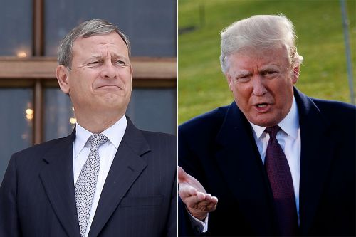 Justice Roberts takes shot at Trump for criticizing federal judges