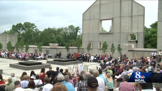 Memorial Day service held at Indiantown Gap National Cemetery