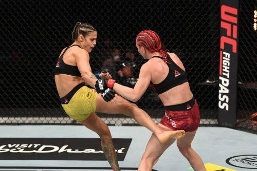 UFC on ESPN+ 38 results: Jessica Andrade makes history with TKO of Katlyn Chookagian