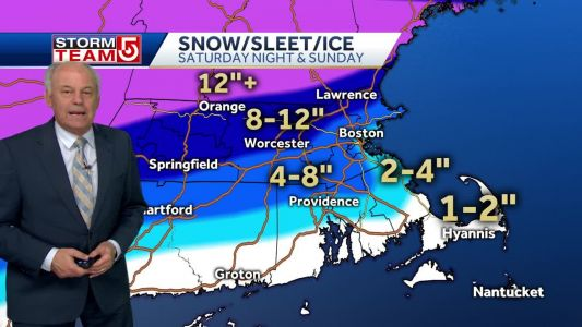 Video: Storm to bring snow, then wintry mix across much of area