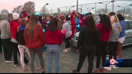 Vigil held for Blue Springs teen killed one year ago today