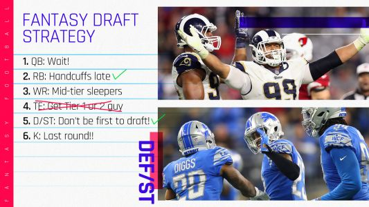 2018 Fantasy Football Draft Strategy, Rankings Tiers: Defense/special teams