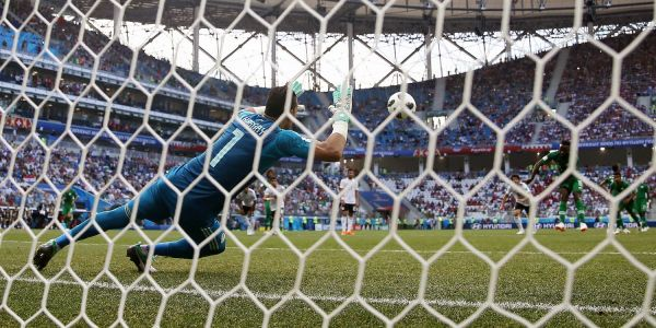 The oldest player ever at the World Cup saved a penalty for Egypt