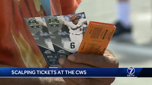 Scalping tickets at the CWS