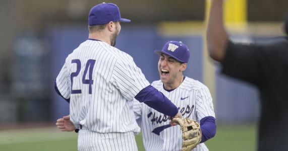 Joe DeMers needs just 84 pitches to throw first perfect game in Husky history
