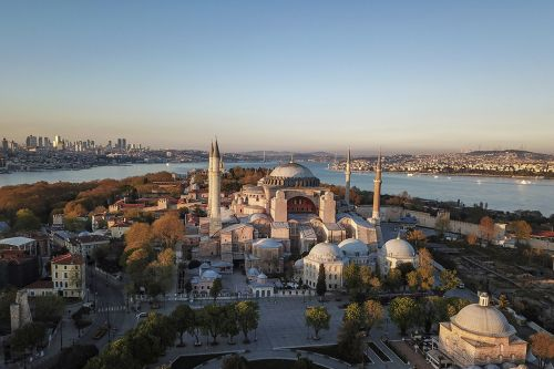 Turkey's president formally makes Hagia Sophia a mosque