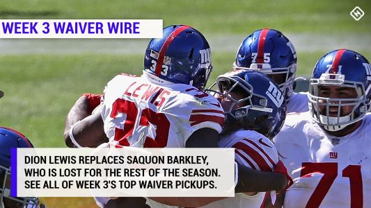 Best fantasy football waiver wire pickups for Week 3