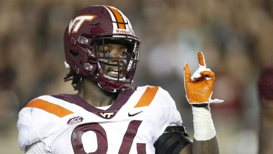 Virginia Tech dismisses defensive end Trevon Hill