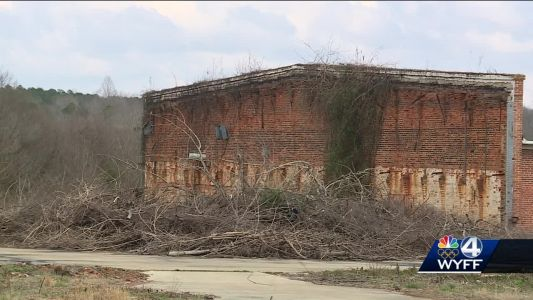 Cleaning up the old Pelzer mill