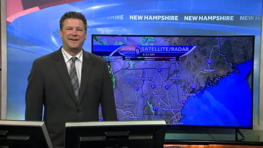 Watch: Warm front approaching