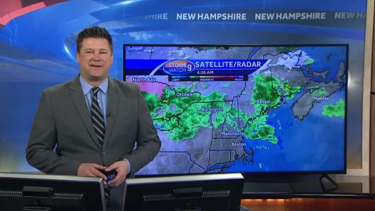 Watch: Fog and rain across parts of the state this morning