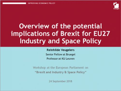 Brexit and industry & space policy