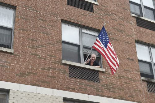 Judge to flag-loving man: Can't you fly it indoors?