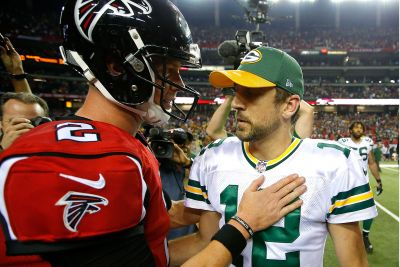 Why Rodgers-Ryan will turn rest of NFC title game into sideshow