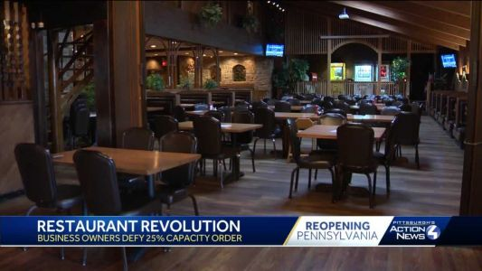 Pa. House fails to override Gov. Wolf's restaurant capacity veto