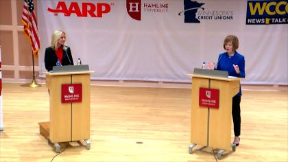 5 Days From Election, Tina Smith & Karin Housley Spar Over Health Care, Gun Control