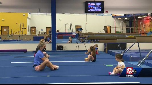 Gymnastics class structured differently during COVID-19