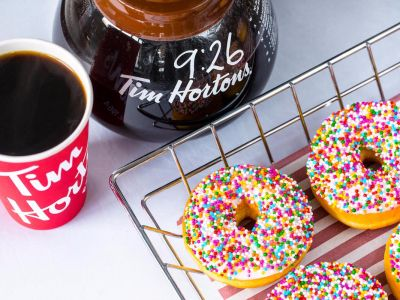 Iconic Canadian cafe Tim Hortons has revealed its official UK launch date
