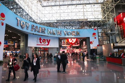 Companies were boxed off to avoid spies at this year's Toy Fair