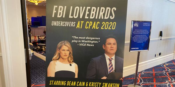 CPAC staged a play based on ex-FBI agent Peter Strzok and ex-FBI lawyer Lisa Page's anti-Trump texts