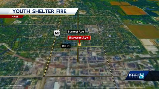 Overnight fire at Ames youth shelter under investigation