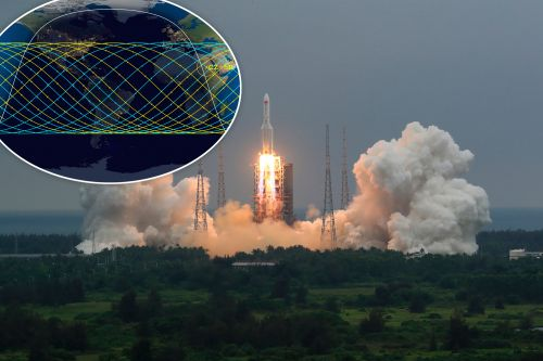 Debris from massive Chinese rocket expected to crash into Earth this weekend