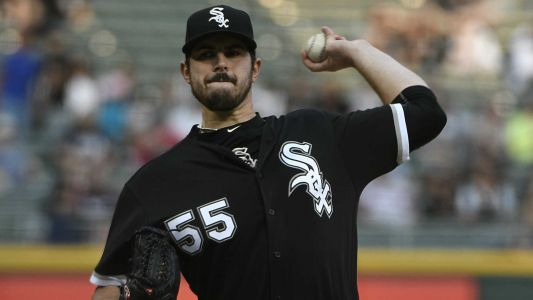 Watch: White Sox pitcher Carlos Rodon struck in head by line drive