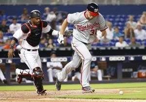 Scherzer fans 10, wins 5th straight start, Nats beat Marlins