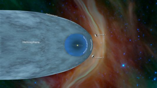 Voyager 2 Bids Adieu To The Heliosphere, Entering Interstellar Space