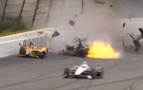 'Worst thing you can see': IndyCar shaken after horrifying crash